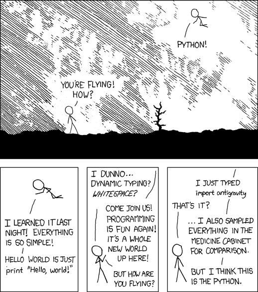 Python XKCD